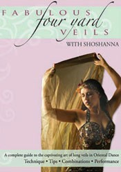 Fabulous Four Yard Veils by Shoshanna - DVD