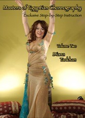 Masters of Egyptian Choreography Vol. 2 - Diana Tarkhan - DVD