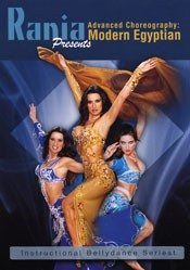 Advanced Choreography: Modern Egyptian - Rania - DVD