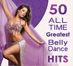 50 All Time Greatest Belly Dance Hits - 2 CD set