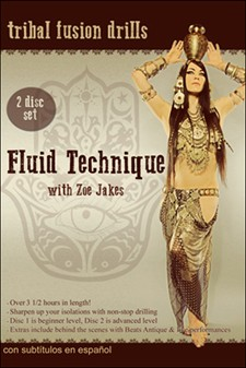 Fluid Technique with Zoe Jakes - 2 DVD set