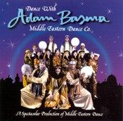Dance with Adam Basma Middle Eastern Dance Company - CD