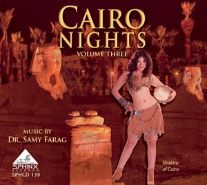 Cairo Nights Vol. 3 Modern Belly Dance Music - CD