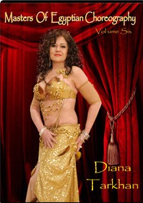 Masters of Egyptian Choreography Vol. 6 - Diana Tarkhan - DVD