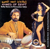 Belly Dance and Percussion Solos - Ahmed Of Egypt - CD