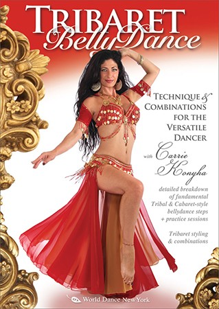 Tribaret Bellydance: Technique & Combinations with Carrie Konyha - DVD