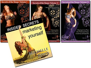 Secrets Combo 4-DVD SET with Michelle Joyce