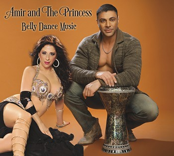Amir and the Princess: Belly Dance Music by Amir Sofi - CD