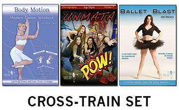 Belly Dance Cross-Train Set - 3 DVD Set