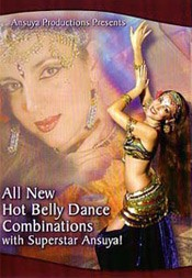 All New Hot Belly Dance Combinations with Ansuya - DVD