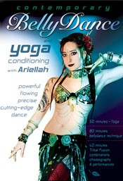 Contemporary Bellydance & Yoga Conditioning - Ariellah - DVD