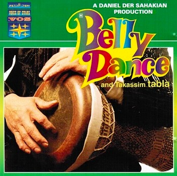 Belly Dance and Takassim Tabla with Setrak Sarkissian - CD